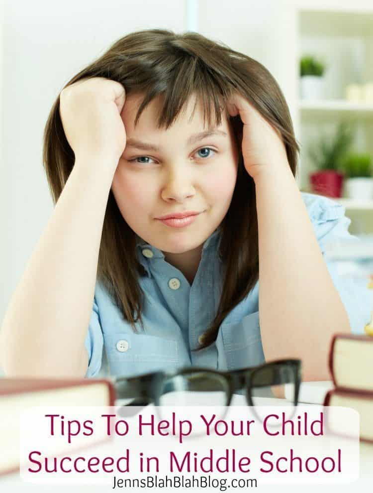 Tips to help your child succeed in middle school