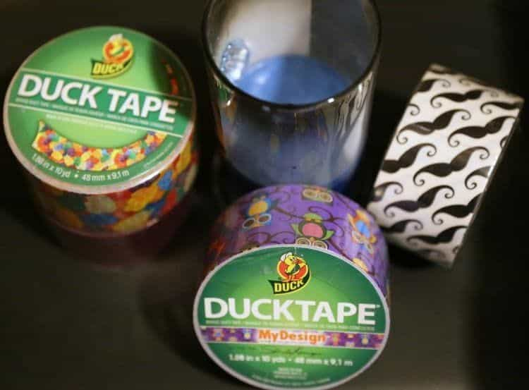 duck tape upcycle