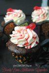 Bloody Bones Halloween Cupcakes