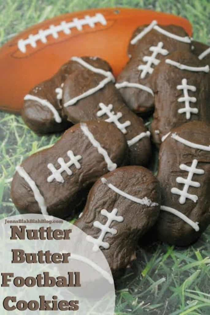 Nutter Butter Football Cookies | Tailgating Food
