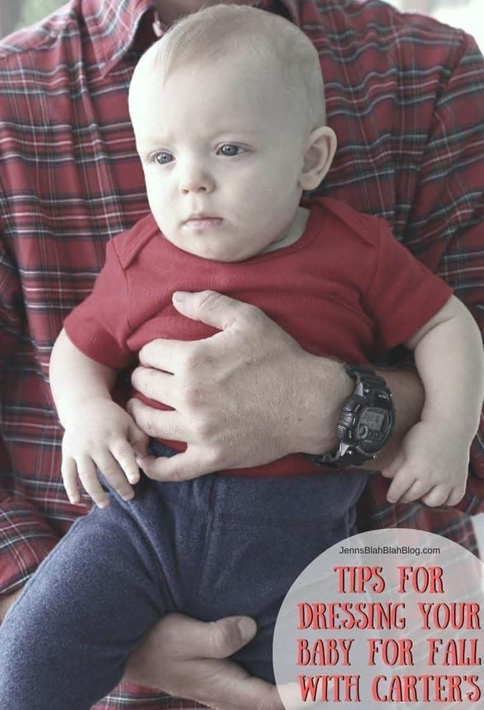 Tips for Dressing Your Baby For Fall with Carter's