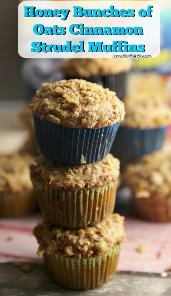 Honey Bunches of Oats Cinnamon Strudel Muffins
