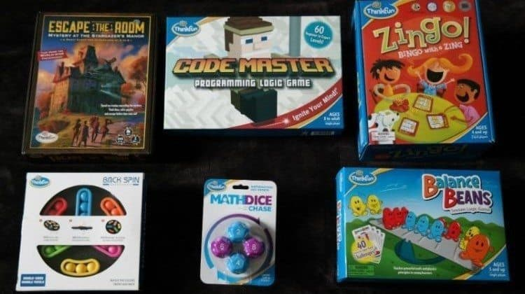 Enjoy The Best Family Game Nights Ever With ThinkFun!!