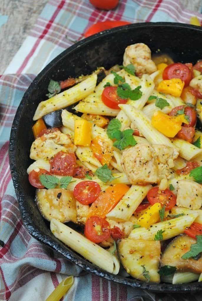 Chicken Skillet Pasta Recipe