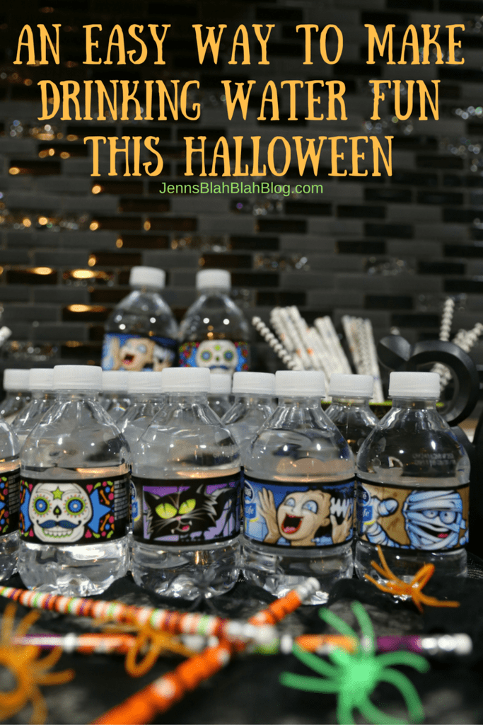 Keep The Kids Hydrated With A Fun NESTLÉ® PURE LIFE® Halloween Water Bar