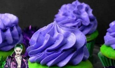 Suicide Squad Joker Cupcakes
