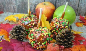 Pumpkin Spice Caramel Apples Recipe