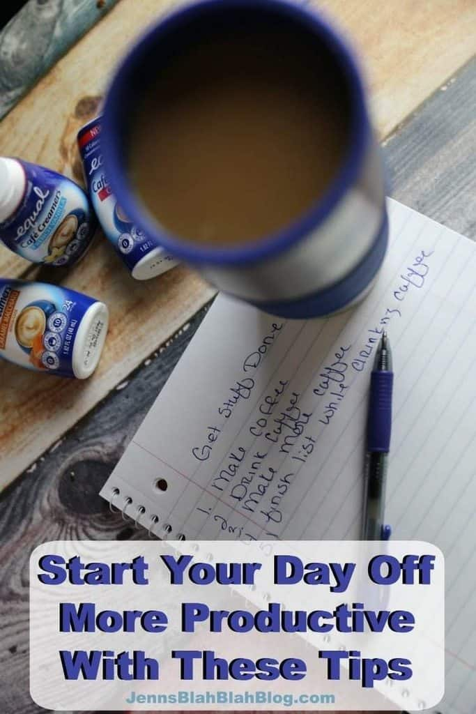 Start Your Day Off More Productive With These Tips
