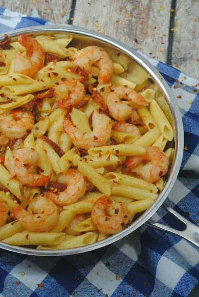Try this AMAZING Shrimp Pasta Recipe