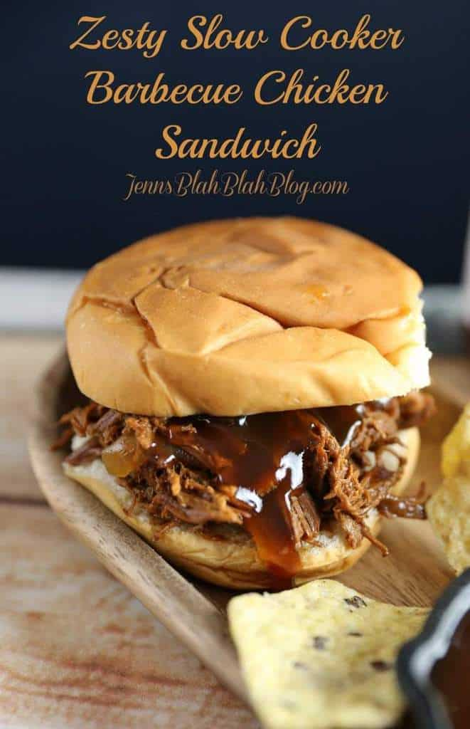 Zesty Slow Cooker Barbeque Chicken Sandwiches Recipes