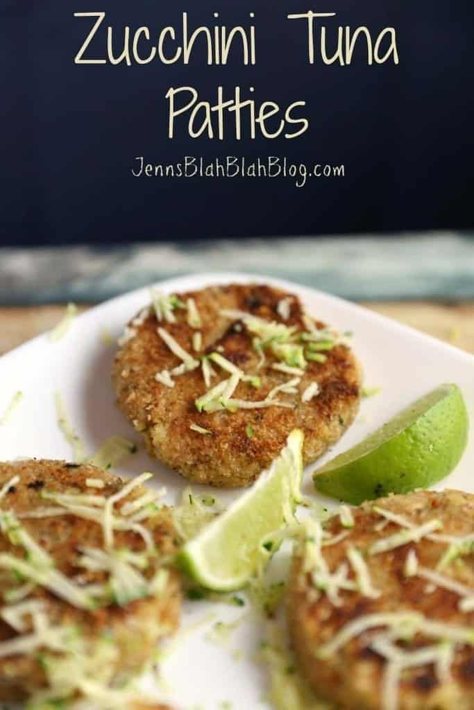 Quick & Easy Zucchini Tuna Patties Recipe