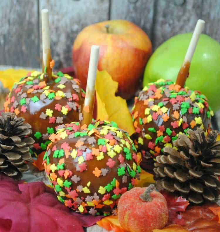Pumpkin Spice Caramel Apples Recipe 2