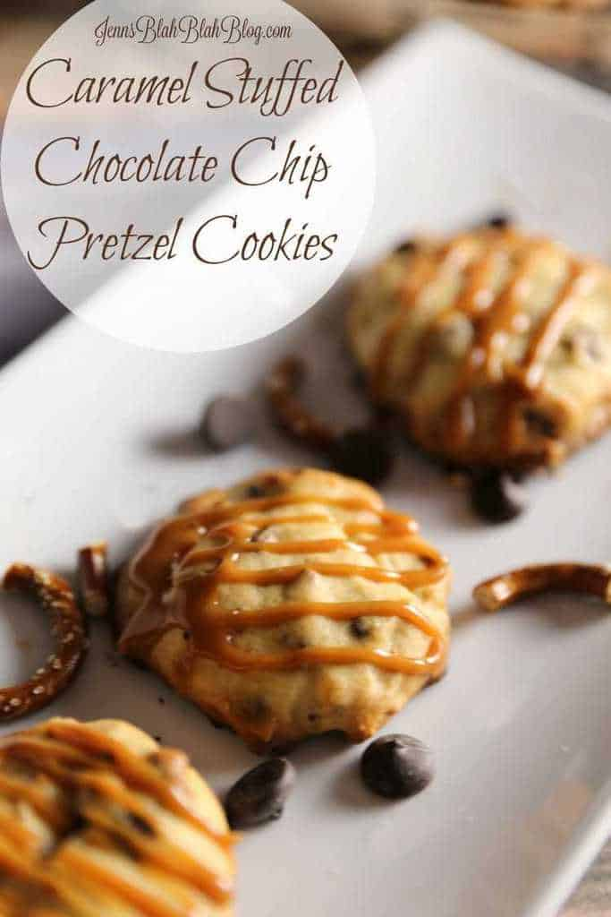 Make It Yours™ Caramel-Stuffed Cookies w/ Chocolate Chip & Pretzel Mix-ins