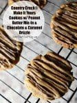 Make It Yours™ Cookies w/ Peanut Butter Mix-in & Chocolate & Caramel Drizzle