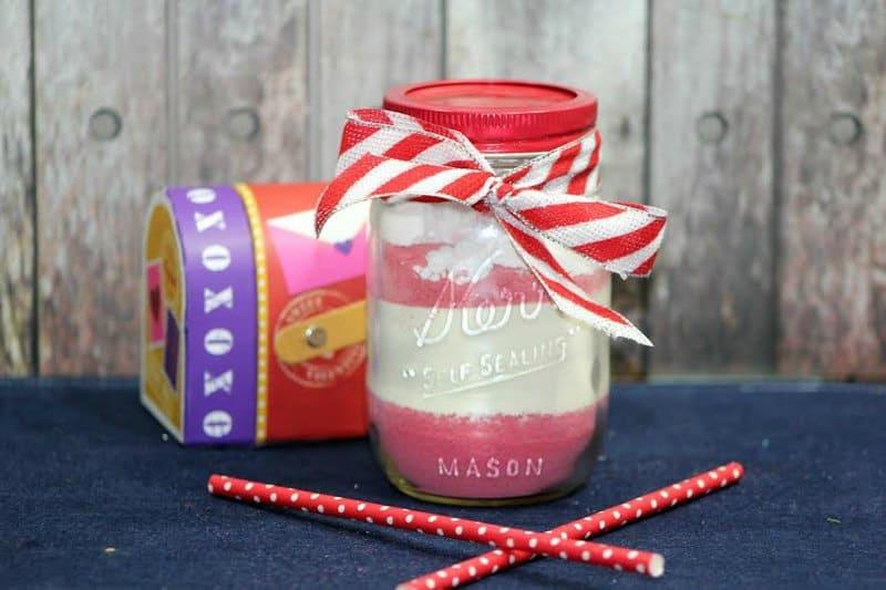 Mason Jar Strawberry Cocoa