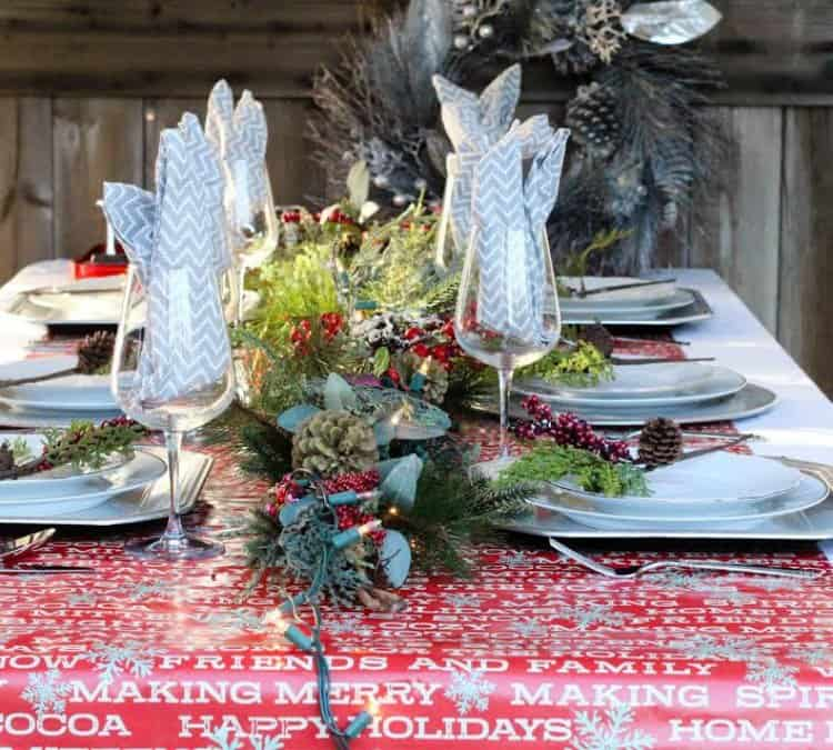 Noel Christmas Tablescape Theme