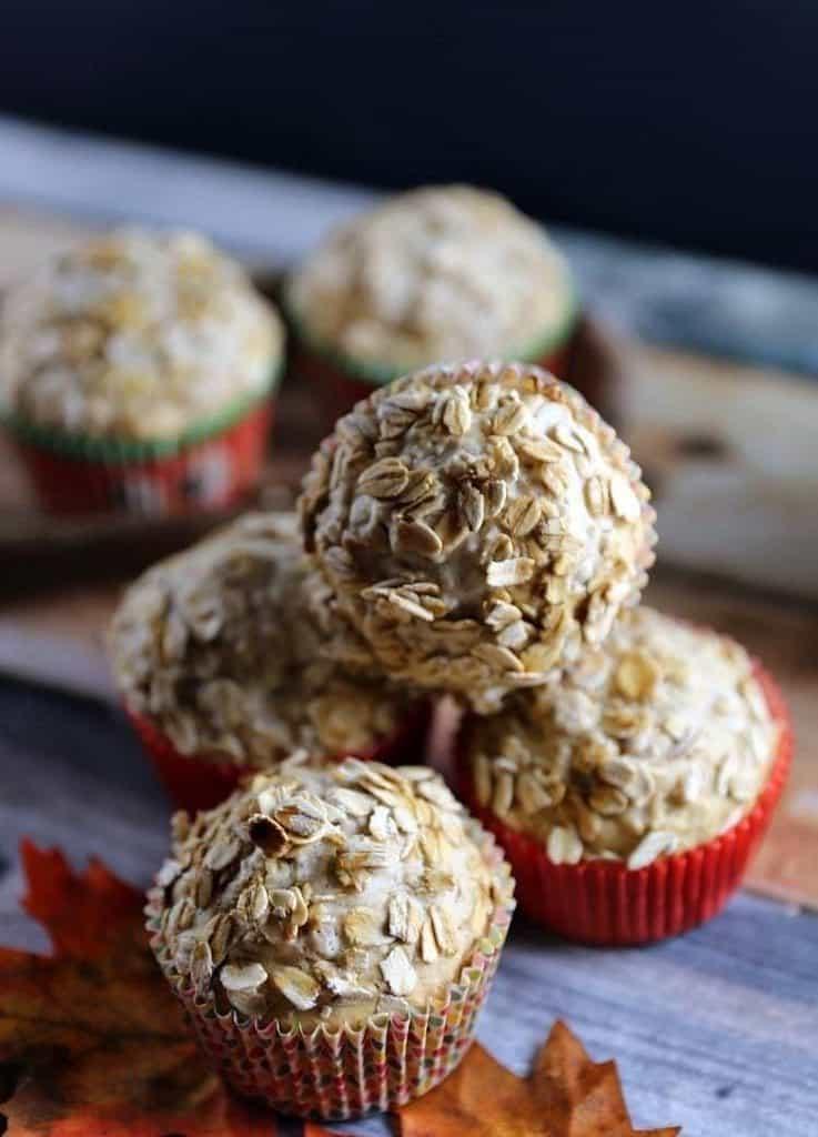 Oat Brand Applesauce Muffins Recipe