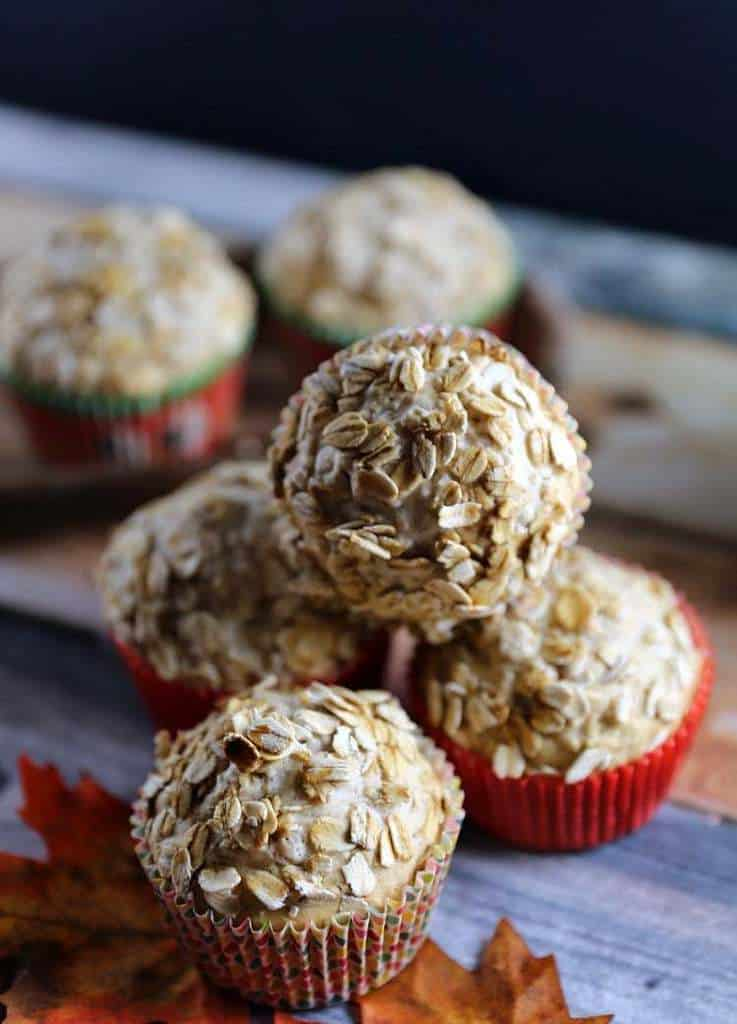 Fifty50 Foods Banana Applesauce Oat Bran Muffins