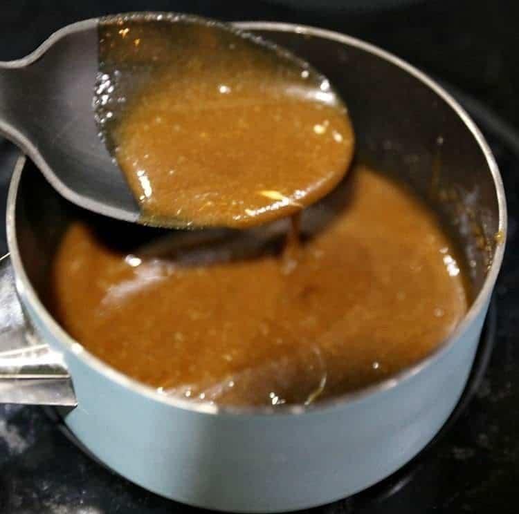 Caramel Glaze