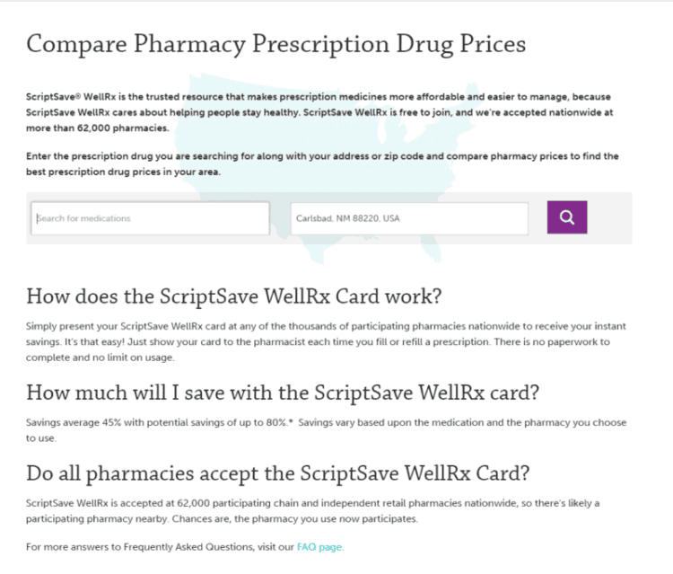 Compare Prices WellRx
