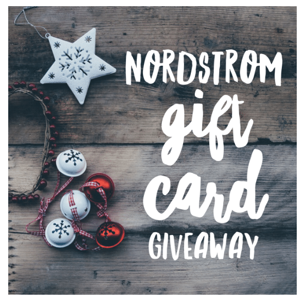 $200 Nordstrom Gift Card Giveaway 2