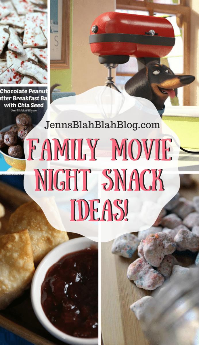 Family Movie Night Snack Ideas!
