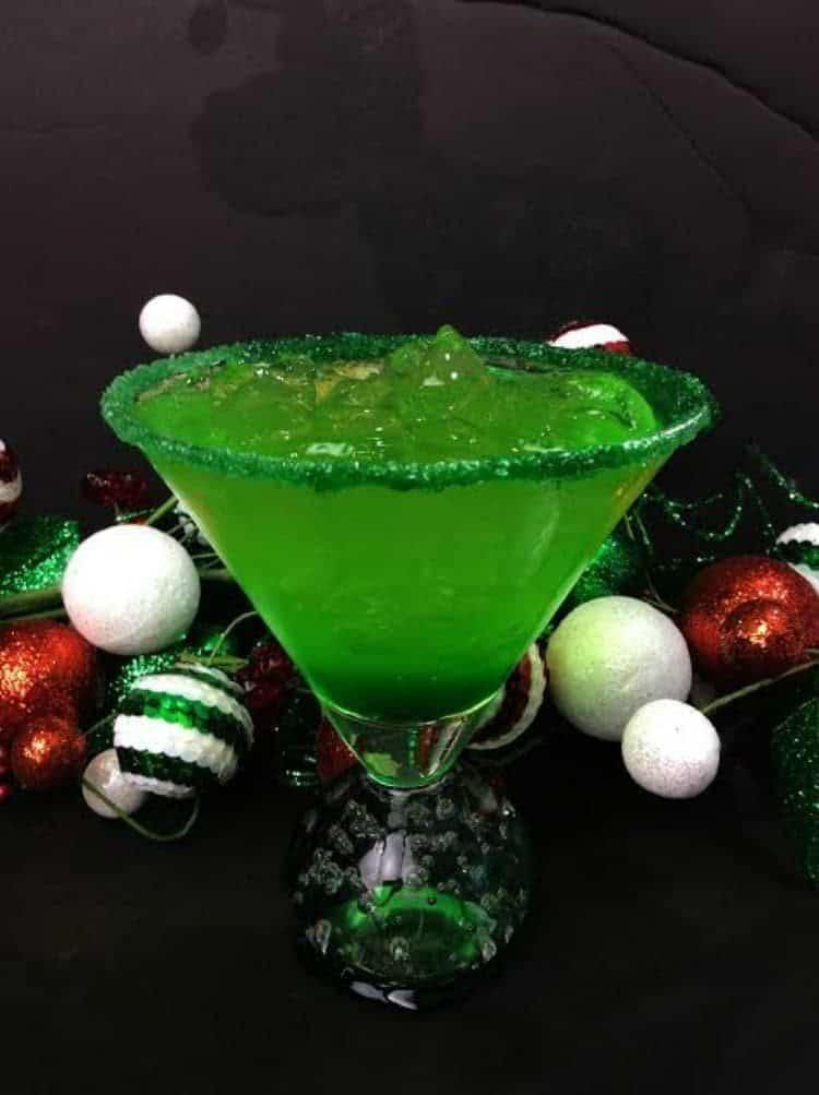 Grinch Sour Cocktail 1