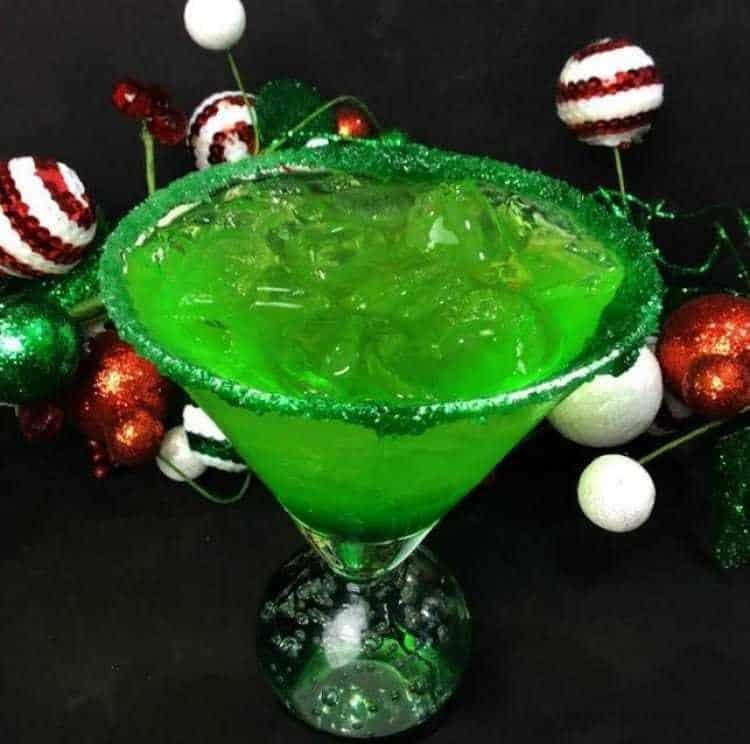 Grinch Sour Cocktail 3