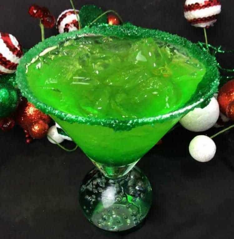 Grinch Sour Cocktail 4