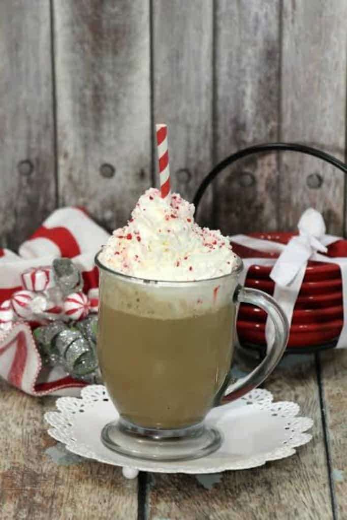 Holiday Peppermint Chai Latte Recipe