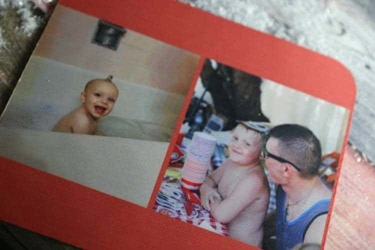 mouse pad with photo