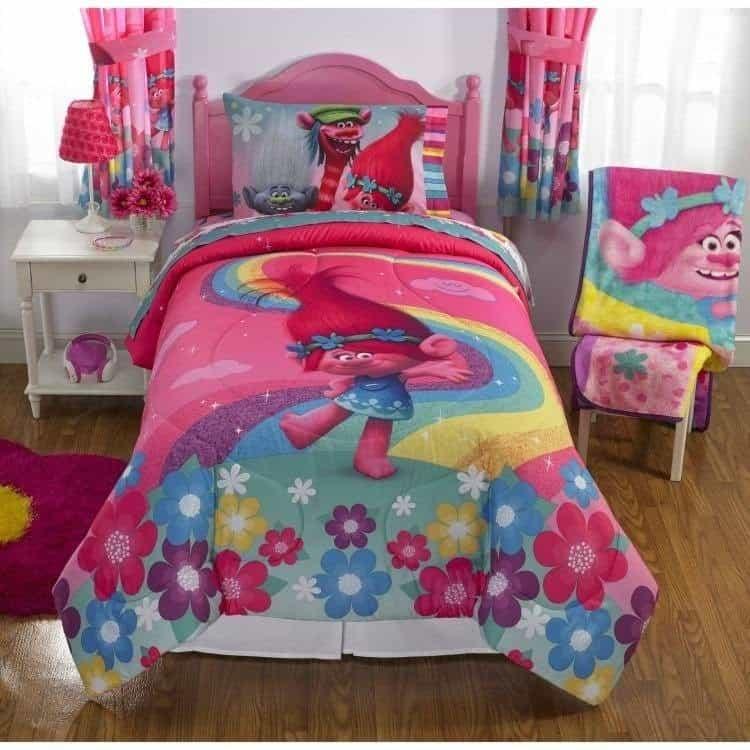 trolls bedroom set
