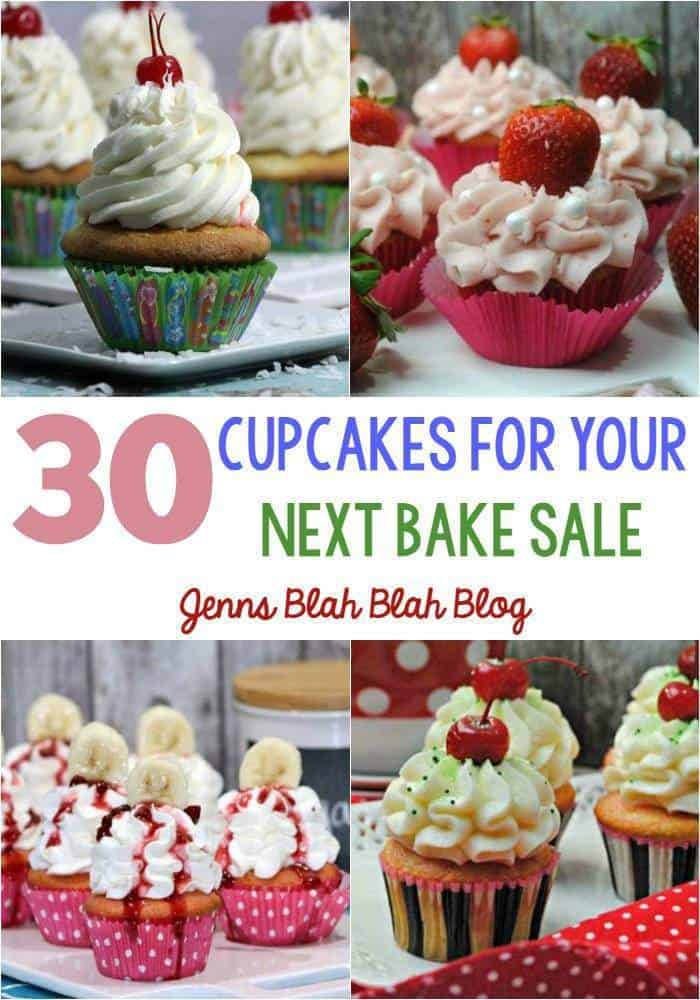 30 Cupcakes For Your Next Bake Sale 1