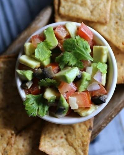 Avocado Salsa Dip Recipe
