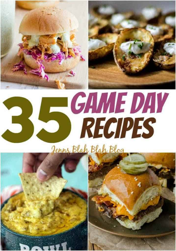 35 Game Day Recipes