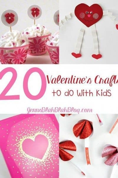 20 Valentine's Crafts To Do With Kids