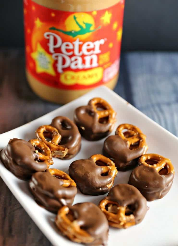 Pretzel Peanut Butter & Chocolate Sandwich