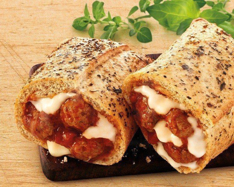 Meatball Parmesan Melt