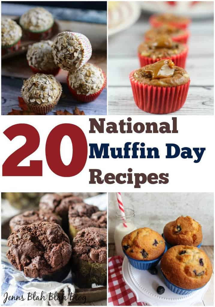 National Muffin Day Recipes