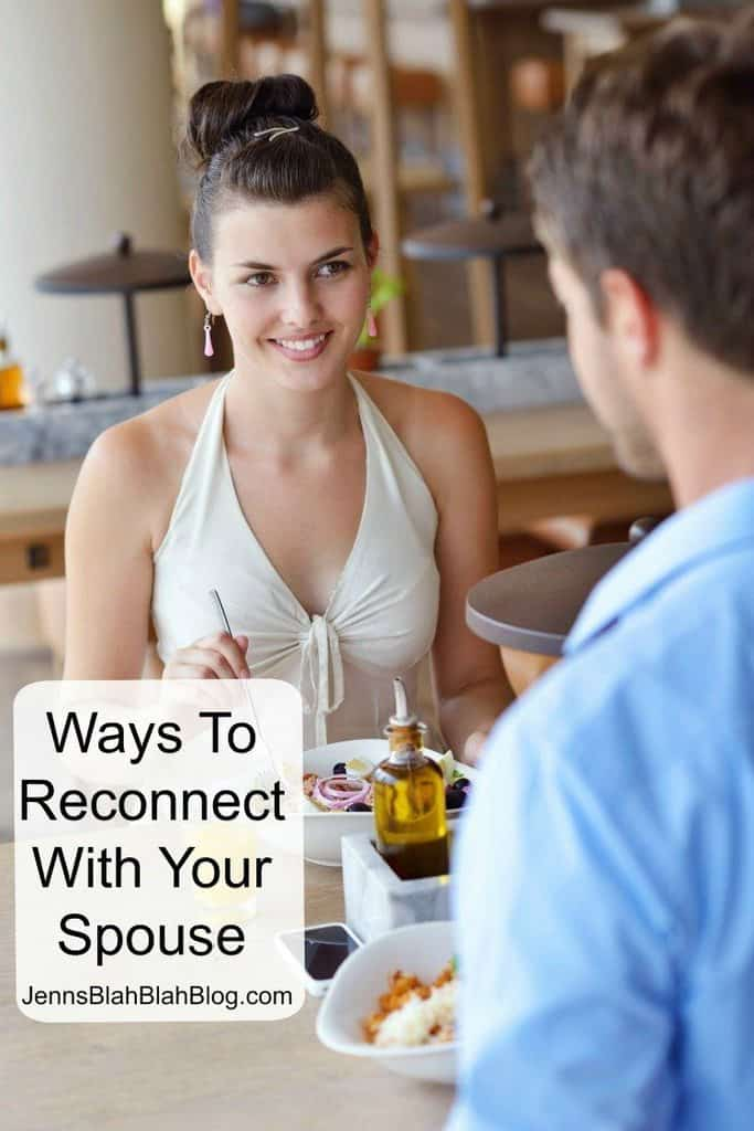 Ways To Reconnect with your Spouse