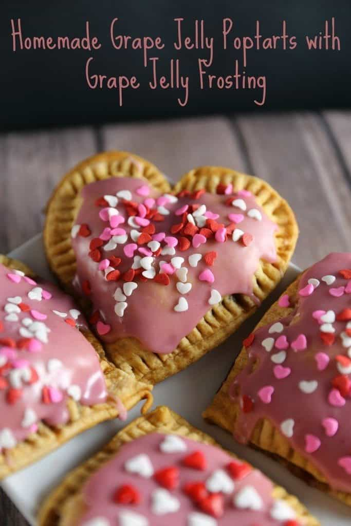 Homemade Pop Tarts with Grape Jelly Frosting Recipe