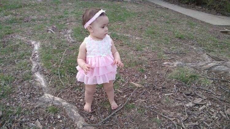 Little Me Rosette Mesh Popover