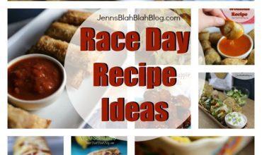 A Few Great Race Day Recipe Ideas