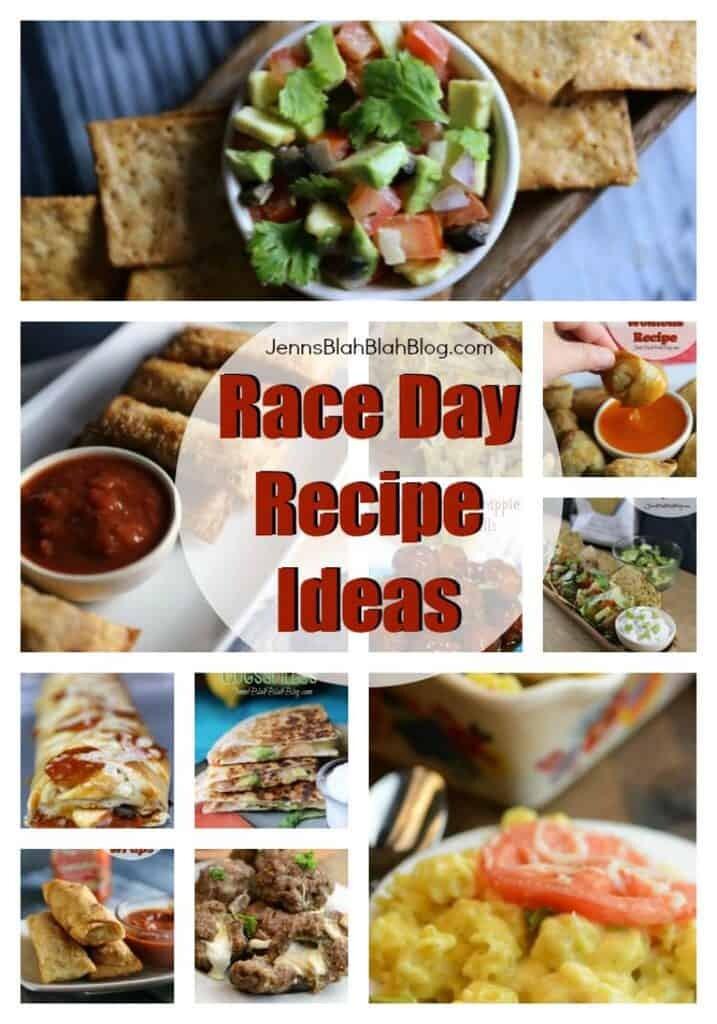 Race Day Recipe Ideas