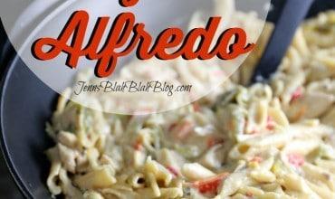 Chicken Fajita Alfredo Recipe w/ Barilla ProteinPLUS Pasta