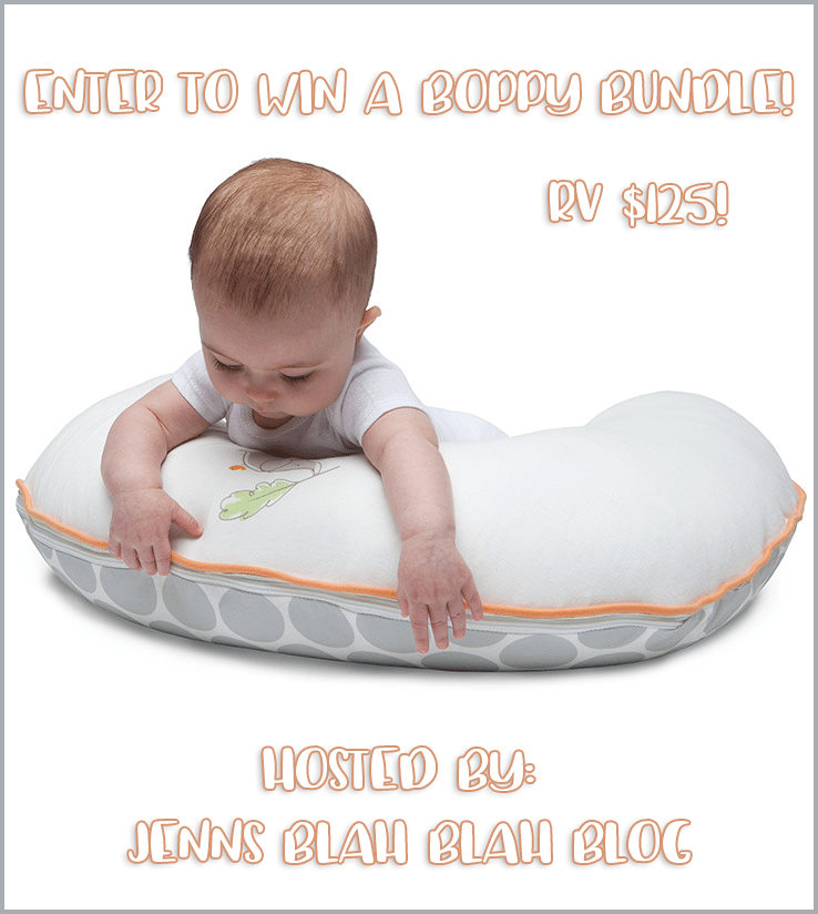 Boppy Baby Bundle Review + A Giveaway 11