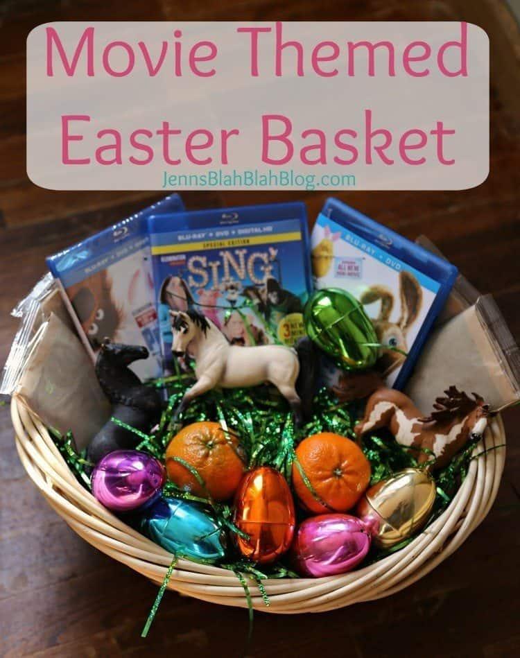 Movie Themed Easter Basket