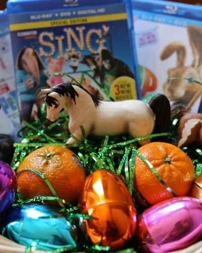 DIY Movie Themed Easter Basket Idea