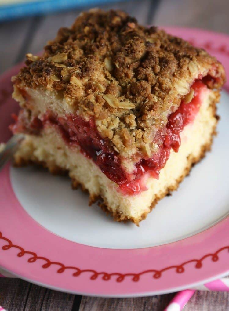Cherry Cheesecake Coffee Cake Recipes