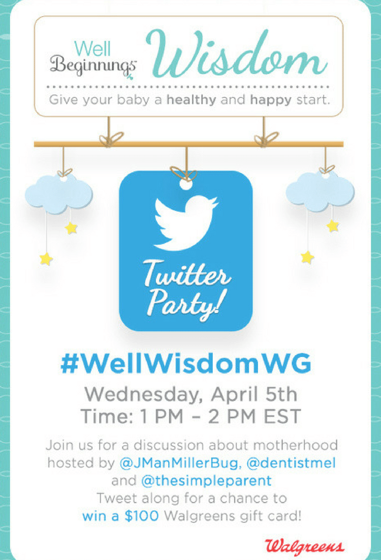 #WellWisdomWG Twitter Party